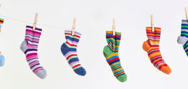 different-socks